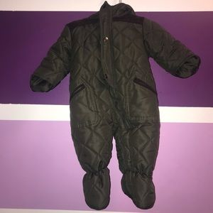Quilted Infant Snowsuit
